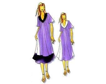 Connie Crawford Lounging Dress or Negligee Butterick 0471 Sewing Pattern Size 3 - 4 - 6 - 8 - 10 - 12 - 14 - 16 UNCUT