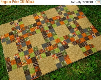 SALE Mixed Patches Quilt
