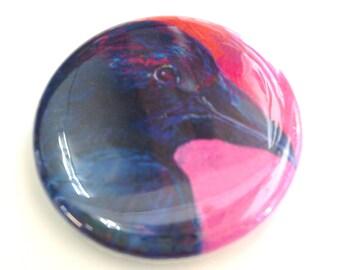 Raven Magnet, 1.25 in, by Jenlo