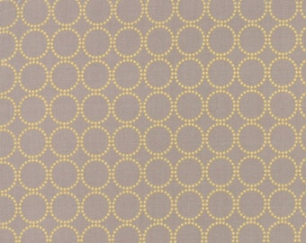 Sundrops - Circled in Taupe: sku 29014-24 cotton quilting fabric by Corey Yoder for Moda Fabrics - 1 yard
