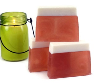 Harvest Ale Beer Scented Soap, Soap Bar Scented with Hops, Orange, and Vanilla