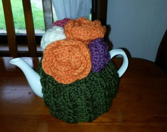 Hand knitted tea cosy  ( tea pot is not included)
