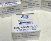 SMALL Sal Block  (( 4 oz )) of Sal Ammoniac helps Soldering Iron Tip Last Longer Keeps Solder Cleaner as you solder