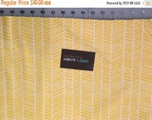 SALE Joel Dewberry Yellow Herringbone True Colors Collection Modern Cotton Fabric by the yard from Shereesalchemy