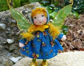 Custom Order Miniature Fairy or Pixie Doll