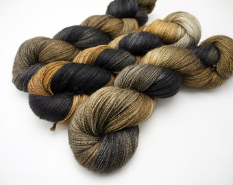 Queen's Tea Variegated - Hand Dyed Yarn - Dyed to Order