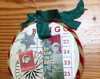 Vintage style Christmas ornament