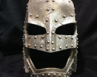 Steampunk Armored Batman Helmet 1:1 Resin Helmet Batman Vs Superman Prop Cosplay
