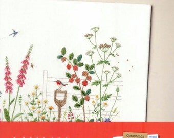 Kazuko Aoki - Embroidery Trip to UK Cotswolds -  Craft Book