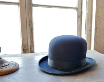 Men's Bowler Hat Size 7-1/8