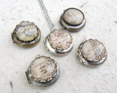 Map of Middle Earth Locket Necklace Jewelry - The Shire, Rivendell, The Lonely Mountain, Rohan, Gondor, Erebor, Mirkwood, and more