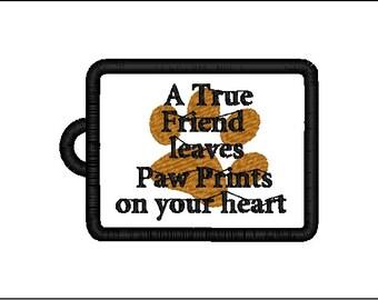 Dog luggage or purse tag