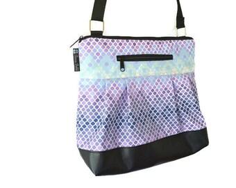 Tablet Pocket Leather Crossbody Purse - iPad Pocket Cross Body Bag - Leather Crossbody Purse - Shoulder Purse - Small MEDIUM  Large HOBO BAG
