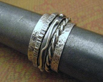 MADE TO ORDER - Men's Kinetic Spinner Ring