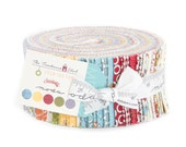 SALE The Treehouse Club Jelly Roll by Sweetwater for Moda Fabrics