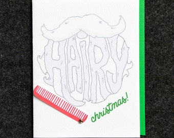 Hairy Christmas - Beard & Comb