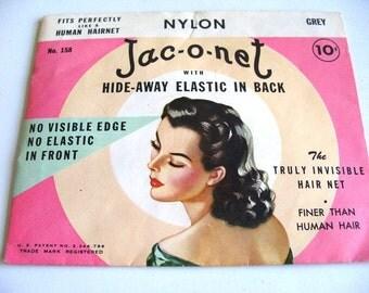 Vintage Hair Net Paper Ephemera