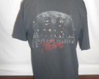 90s Vintage Top Dawg HAWAII black t shirt, Rottweiler Posse 90s tee