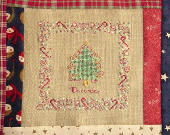 Christmas Tree Cross Stitch PDF Pattern