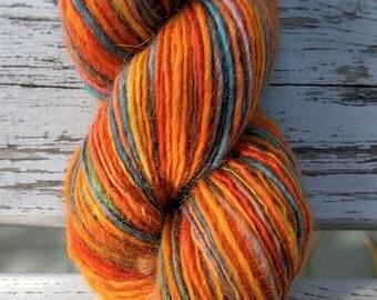 SALE! Gems, handspun DK wool yarn, 60 g/242 yds