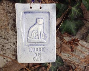 House of Cat Ceramic Tile