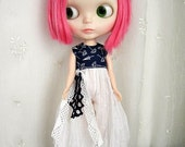Blythe Overalls, Umbrellas and Swiss Dots