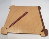 Larger-weaving sample sett tool- Pecan and Walnut