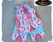 Boutique Birthday Girl Summer Capri Outfit Top Pant Set Clothing Blue Birthday Size 3m 6m 9m 9 12 18 24 month 2 2T 3 3T 4T 4 5 5T 6 7 8