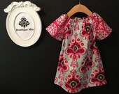 Will fit Size 12 month up to a 5T - Ready to MAIL - Aline Mini Dress or Top - Amy Butler - by Boutique Mia