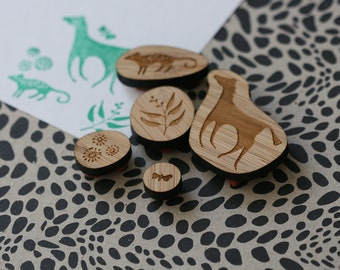 Snowy River - Rubber Stamp Set
