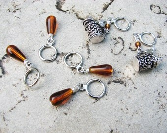 Beer Non-Snag Stitch Markers