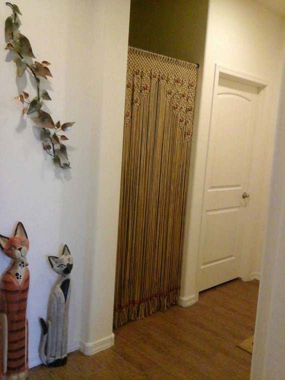 Private Listing For M Jones Wood Beaded Arch Door By Craftflaire