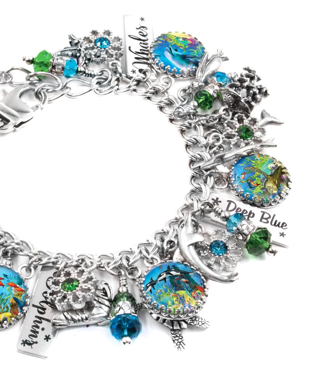 Ocean Bracelet Beach Bracelet Sea Jewelry Nautical Jewelry
