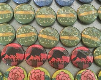 Portland Oregon button magnets