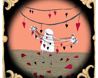 Heart Strings - PRINT - various sizes