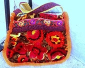 Floral boho bag
