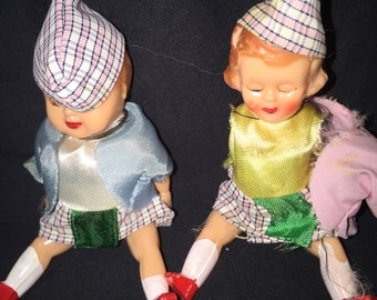 Vintage Doll Couple
