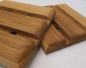 Wooden Trivets (set of two), hot pads, solid hickory, gift for her, gift for him