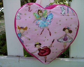 My Carrie Toddler/Childs Padded Heart Shaped Backpack