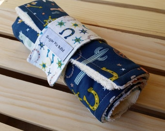 Diapers - Diaper Changing Pad - Baby Gifts - Changing Pad - Diaper Travel Pad / Diaper Changing Mat / Cowboy Baby Gifts