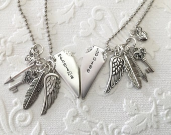 Thelma and Louise best friend necklaces