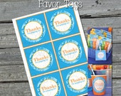 """Bubble Favor Tags 