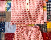 70s Heart Outfit 2/3T