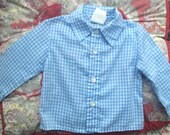 Gingham Shirt 12/18 Months