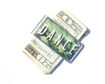 MONEY CLIP- Moneyclip, Money Clip Wallet, Dance Money Clip