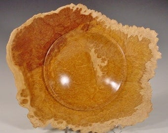 Australian Brown Mallee Burl Wood Bowl Turned Wood Bowl Number 6054