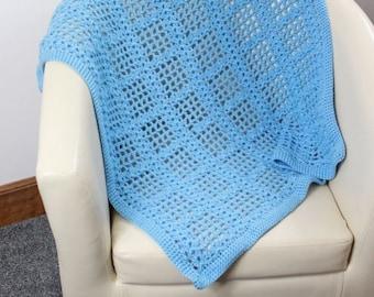 CROCHET PATTERN For  Baby Afghan Blanket PDF 346  Digital Download