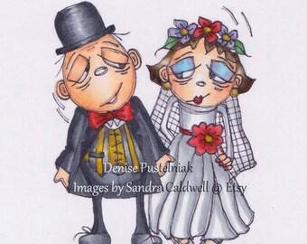 140 Mr and Mrs Digi Stamp