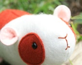 Elliot Guinea Pig : Guinea pig  PDF, guinea pig plush, hamster plush, easy sewing pattern, guinea pig softie, toy guinea pig