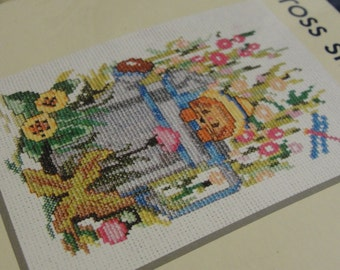 The Garden Cross Stitch Kit